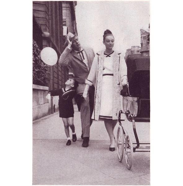 Архивная съёмка: Одри Хепберн для Harper's Bazaar, 1959. Изображение № 13.