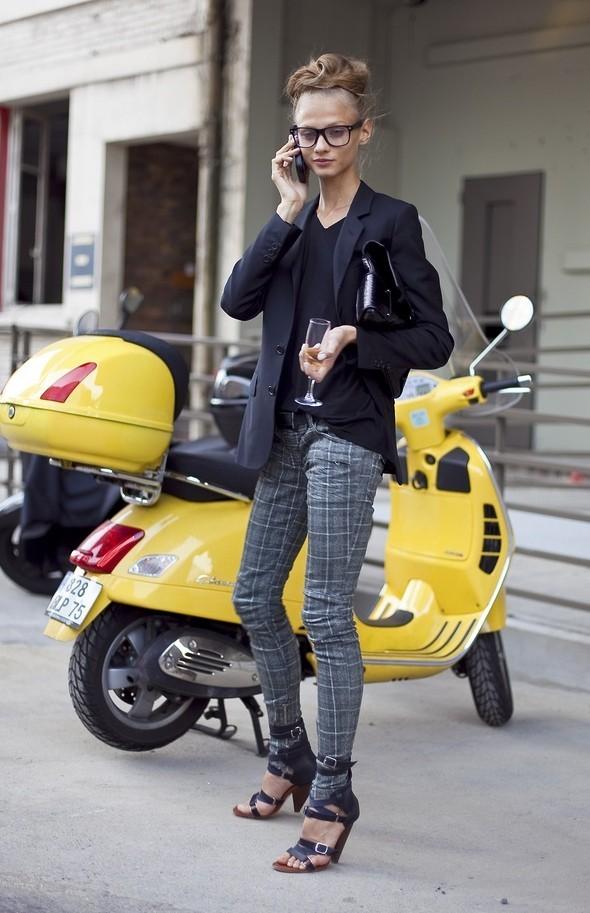 Models street style. Изображение № 11.