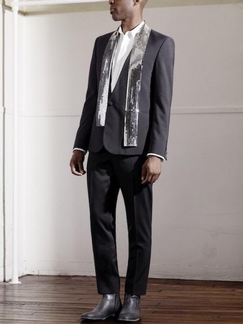Появились новые фотографии из мужского лукбука Maison Martin Margiela для H&M. Изображение № 5.