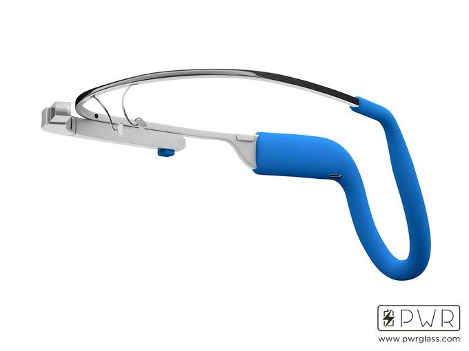 Разработан аксессуар-аккумулятор для Google Glass. Изображение № 2.