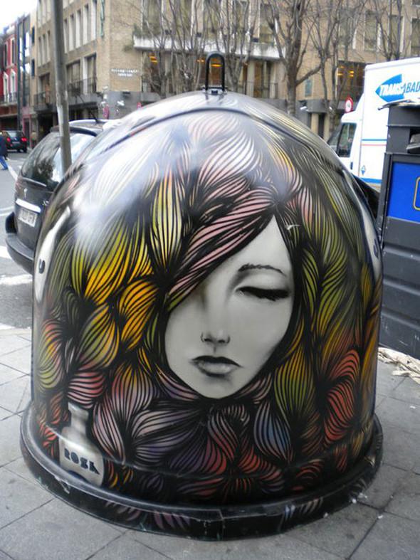 Большая коллекция уличного искусства. Изображение № 69.