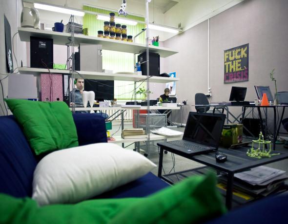 Офис дизайн-студии «Nimax». Изображение № 3.