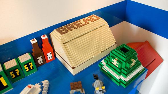 Lego дом. Изображение № 5.