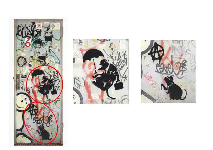 Бэнкси осудил организаторов выставки с подделками его работ. Изображение № 6.