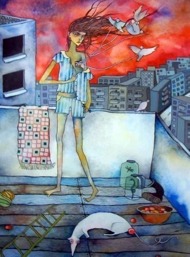 «Дикое сочетание вкуса и цвета»: Джон Форте и Алина Орлова. Изображение № 9.
