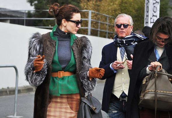 Луки с Недели моды в Париже. Изображение № 39.