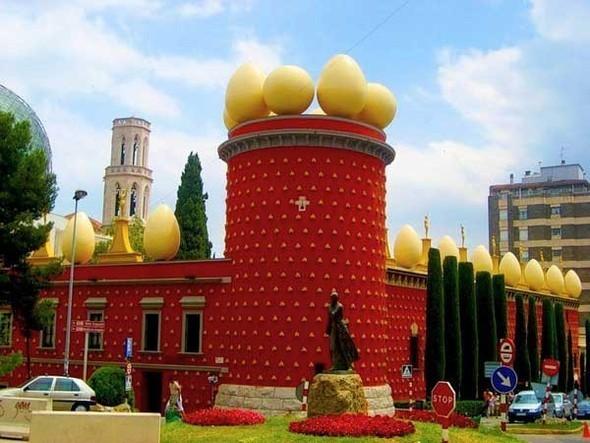 Дом-музей Сальвадора Дали вФигейросе, Испания. Изображение № 1.