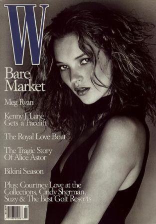 Кейт Мосс, наобложках главных модных журналов планеты. Изображение № 12.
