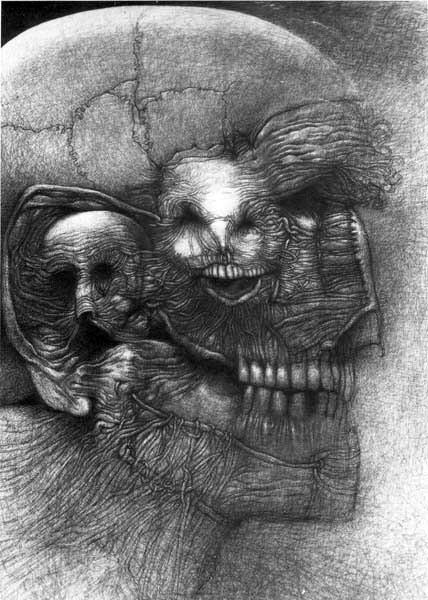 Архив работ Ждислава Бексински. Изображение № 19.