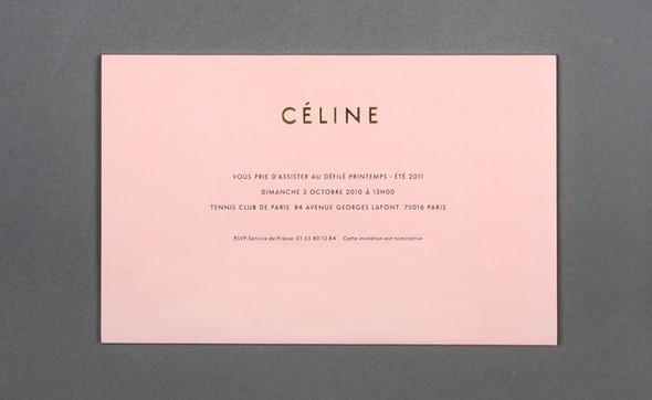 Изображение 24. Womenswear collections S/S 2011: show invitations.. Изображение № 24.