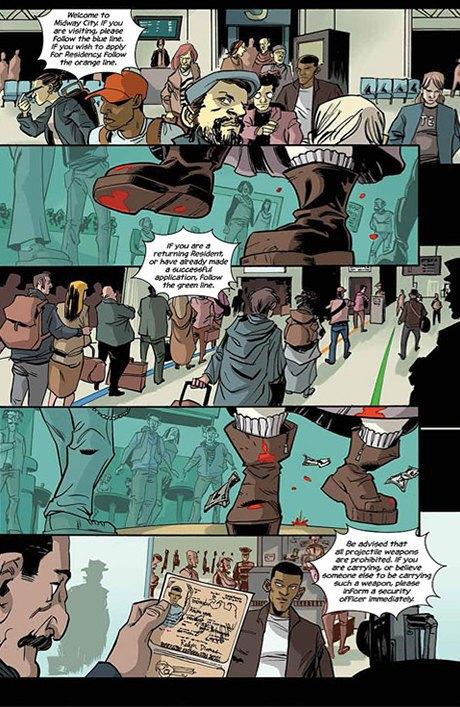 Автор комикса The Fuse об отношении иностранцев к России и женщинах-полицейских. Изображение № 15.