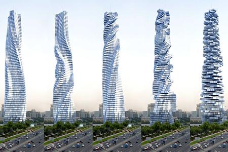 Первое движущееся здание – Dynamic Tower. Изображение № 1.