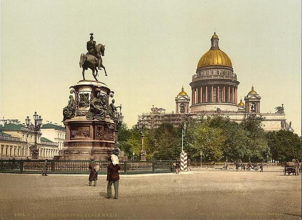 Памятник императору Николаю Первому на Исаакиевской площади Петербурга . Изображение № 7.