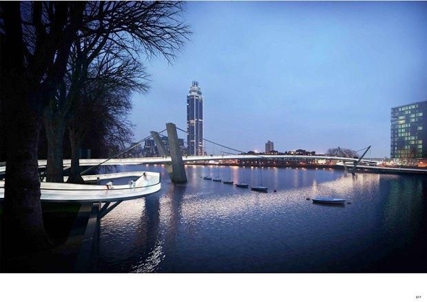 Выложены 74 проекта нового моста через Темзу. Изображение № 60.