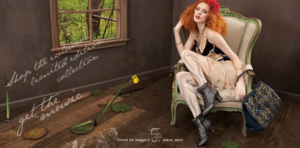Кампания: Коллекция Карен Элсон для Nine West. Изображение № 1.