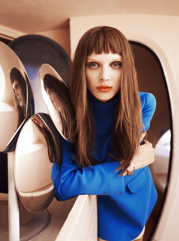 Вышли новые съемки из Bon, Flair, Vogue и других журналов. Изображение № 15.