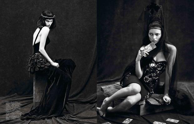Новые съемки Dazed & Confused, Vogue, i-D и W Magazine. Изображение № 25.