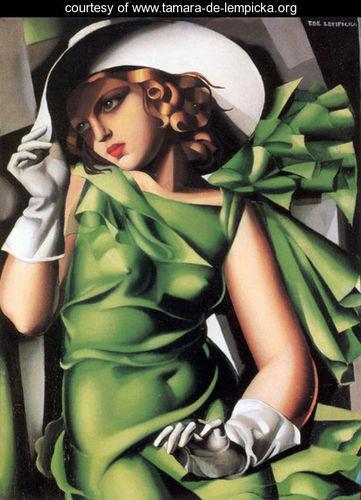 Тамара де Лемпицка – художница и икона Арт Деко. Изображение №15.