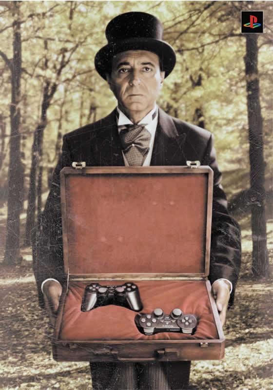 Рекламные плакаты Sony PSPи Sony Playstation 1, 2, 3. Изображение № 55.