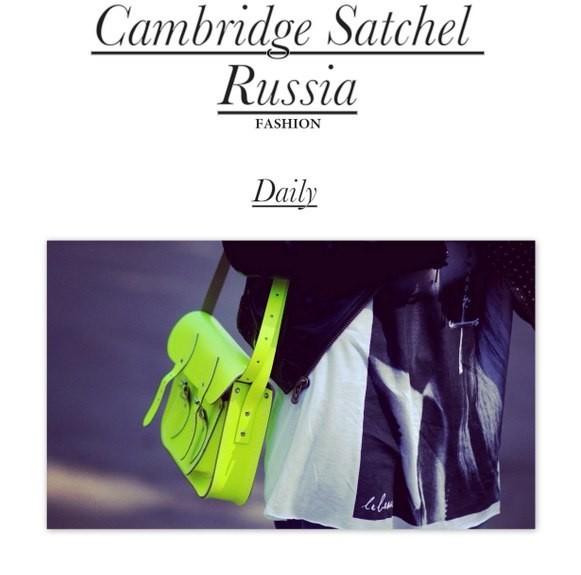 Cambridge Satchel в России.. Изображение № 20.