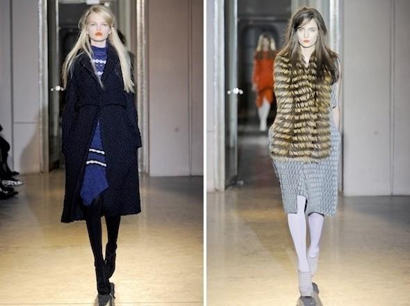 Изображение 9. Показы на Paris Fashion Week FW 2011: день 2.. Изображение № 18.