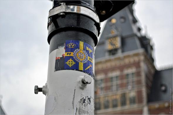 Стрит-арт и граффити Амстердама, Нидерланды. Изображение № 7.