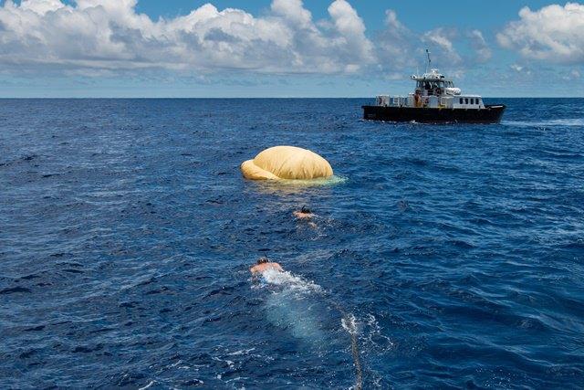 NASA провело успешные испытания замедляющей «летающей тарелки» . Изображение № 3.