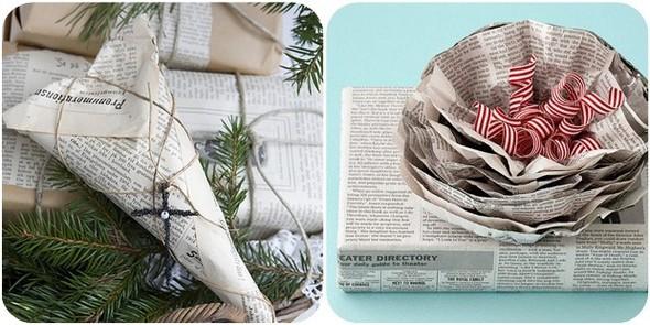 55 идей для упаковки новогодних подарков. Изображение №106.
