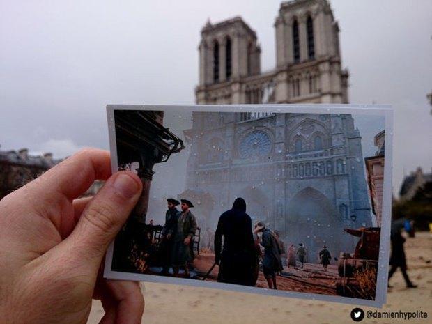 Дизайнер сравнил Париж в Assassin's Creеd и реальности. Изображение № 1.
