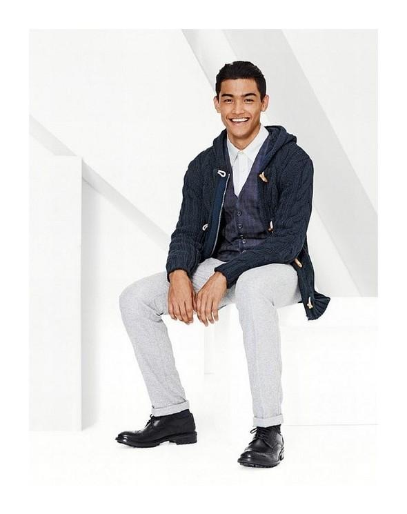 Лукбук: United Colors of Benetton Fall 2011 Menswear. Изображение № 12.