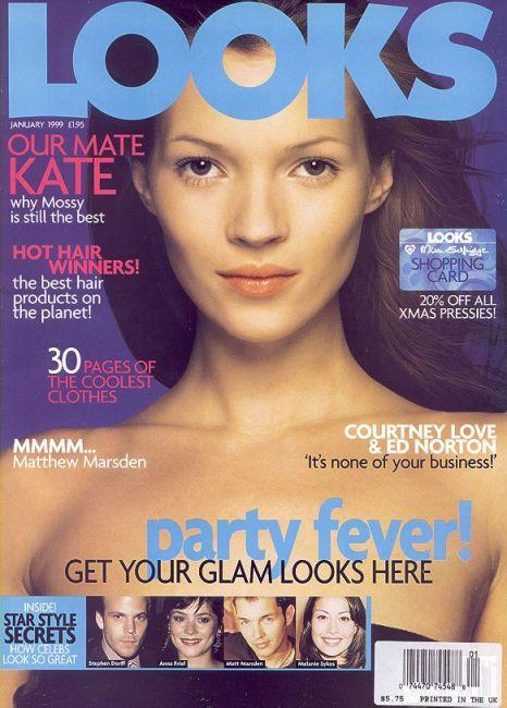 Кейт Мосс, наобложках главных модных журналов планеты. Изображение № 21.