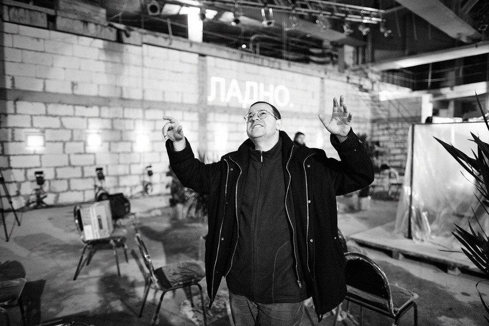 «Три четыре»: Фоторепортаж с репетиции оперы в подвале Москва-Сити. Изображение № 19.