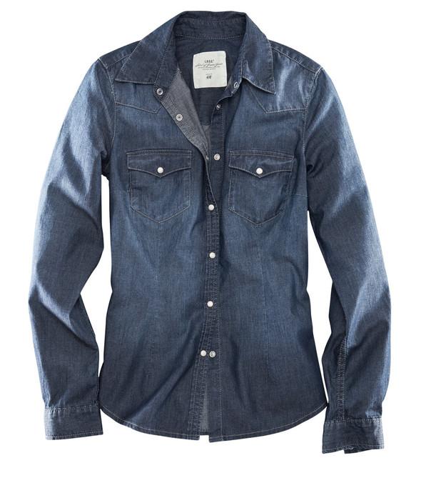 Джинсовое вдохновение: рубашка. Изображение № 22.