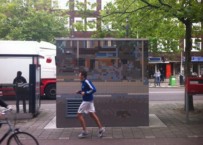 Роланд Оттен демонстрирует «Городской камуфляж». Изображение № 2.