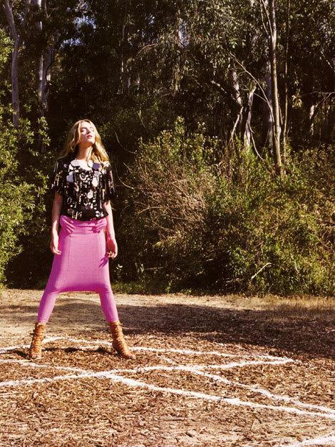 French 'Vogue': Devil Worship IsThe NewBlack!. Изображение № 3.