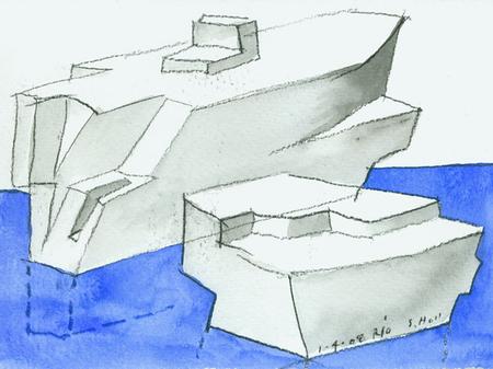 Архитектурные акварели стивена холла. Изображение № 20.
