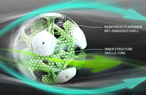 Мексиканские дизайнеры разработали футбольный мяч будущего. Изображение № 5.
