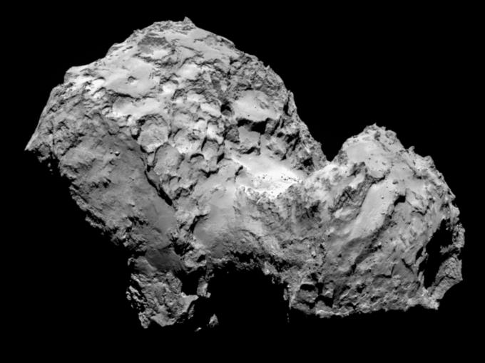 Фото дня: первые снимки кометы с близкого расстояния. Изображение № 1.