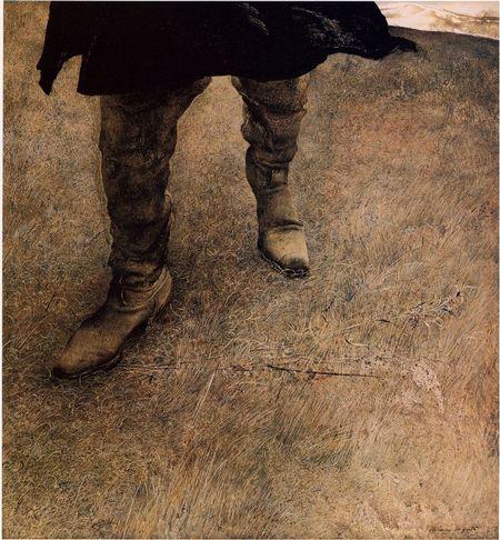 Andrew Wyeth- живопись длясозерцания иразмышления. Изображение № 23.