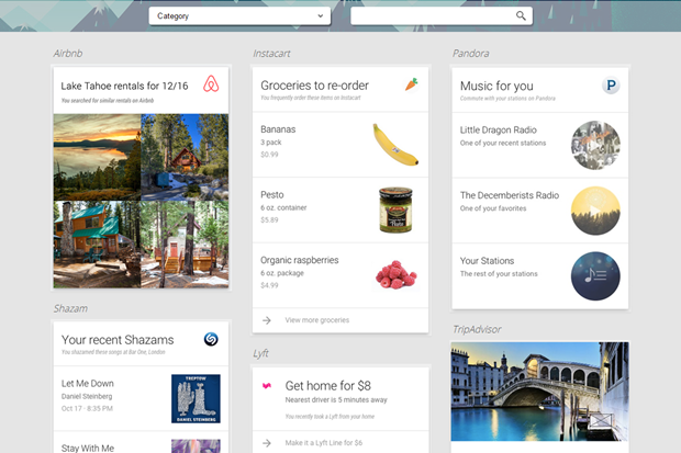 Google Now интегрировали с 35 приложениями. Изображение № 1.