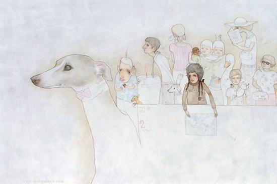 Детский иллюстратор Lilly Piri, любительница конвертов. Изображение № 2.