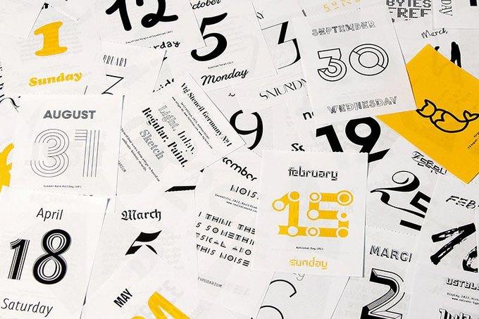 С каким календарём я начну следующий год. Изображение № 10.