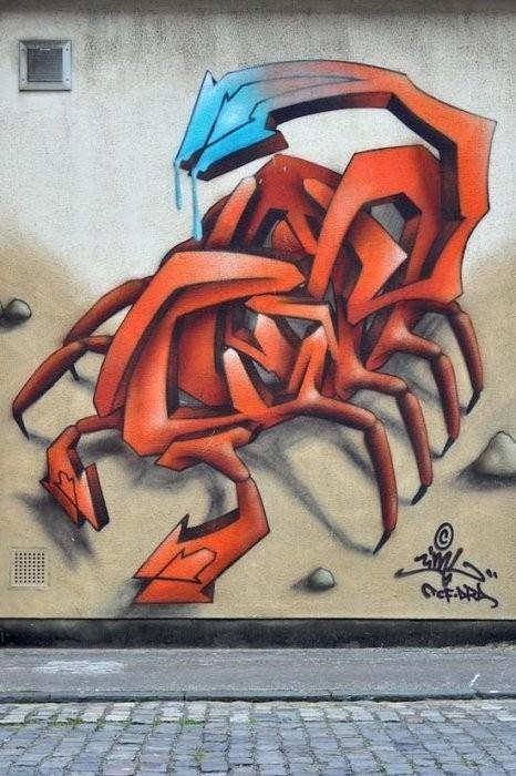Изображение 2. Бристоль. Художественное граффити.. Изображение № 4.
