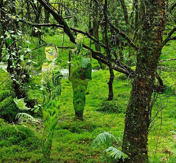 Скульптуры-призраки в шотландском лесу. Изображение № 3.