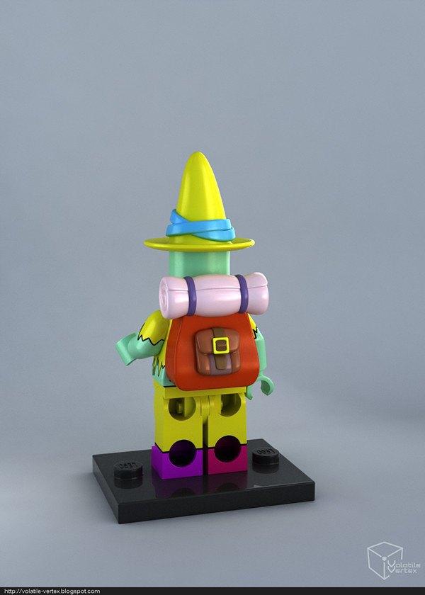 Концепт: персонажи Adventure Time в LEGO. Изображение № 12.