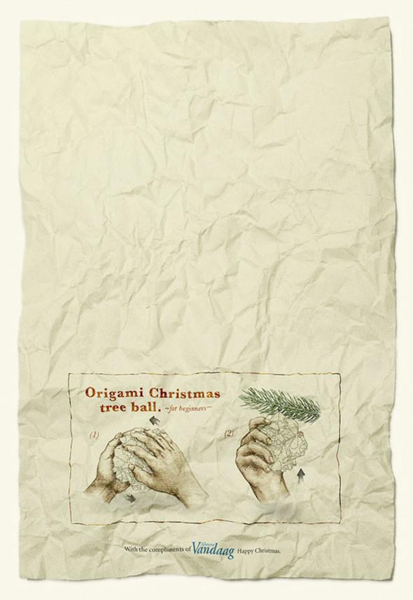 Новогоднее - Рождественский креатив в рекламе. Изображение № 14.