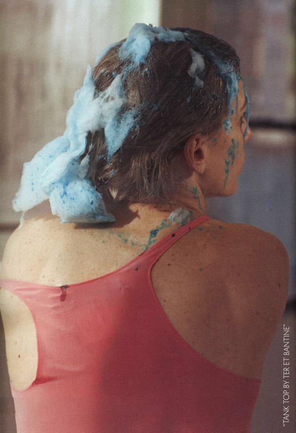 Наташа Войнович и еда, фотограф Седрик Буше. Изображение № 5.