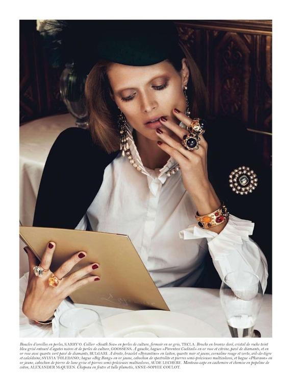 Съемки: Numero, Vogue, W и другие. Изображение № 63.