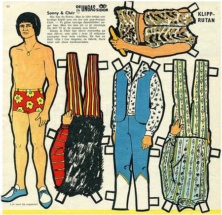 Бумажные куклы 1960-х годов!. Изображение № 5.
