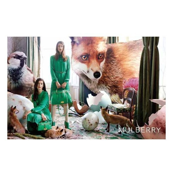 Изображение 3. Рекламная кампания и видео новой коллекции Mulberry.. Изображение № 3.